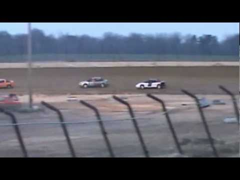 Hornet Heat 1(part2) at Clay County Speedway 3-30-13