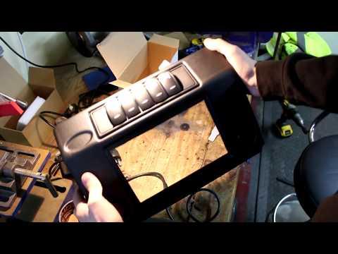 MUD Stuff Land Rover Defender Dash Console Install