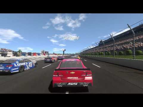 "NASCAR Heat Evolution Career Mode Axalta ""We Paint Winners"" 400 R14S1"