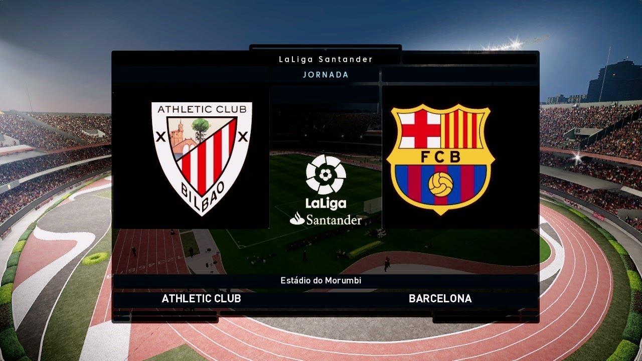 Athletic Bilbao vs Barcelona - La Liga 10 February 2019 ...