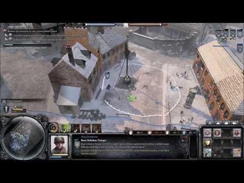 Sin plays ... Company of Heroes 2 - Ardennes Assault, Bullingen ! |