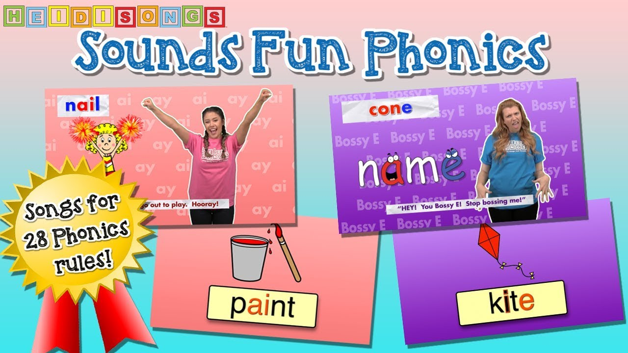 SOUNDS FUN PHONICS! (DVD Preview) - YouTube
