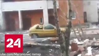 Причиной ЧП в жилом многоэтажном доме в Петербурге стали строительные работы