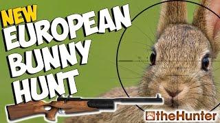 NEW European Rabbit Hunt | Albino Red Deer - theHunter 2015 - Rabbit Hunting Air Rifle PC Gameplay