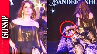 Sussane Khan Almost Falls On Ramp - Bollywood Gossip 2017