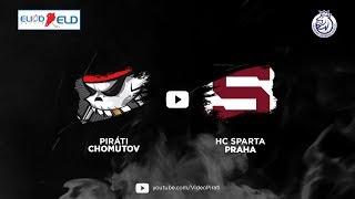 2. kolo nadstavby ELIOD ELD: Piráti Chomutov vs HC Sparta Praha