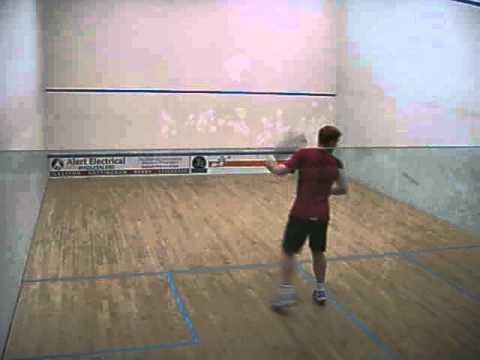 "MIKE TOLMAN V CRAIG BARTLETT  ""The Manor UK-Racketball Series 2013"""
