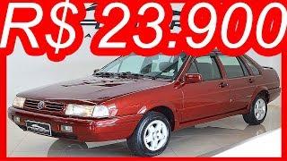 #PASTORE R$ 23.900 #VW #Santana 2000Mi Evidence 1996 Vermelho Real aro 14 MT5 #AP 114 cv 17,6 kgfm