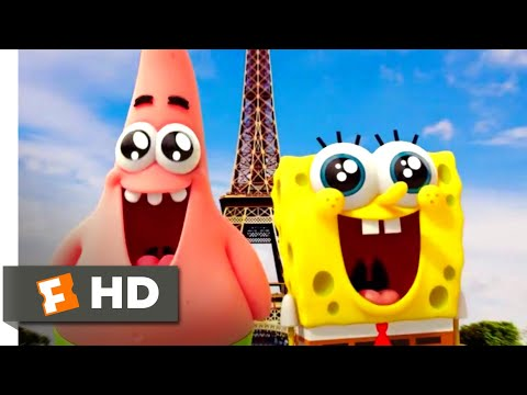 The SpongeBob Movie: Sponge Out Of Water (2015) - The Real World Scene (6/10) | Movieclips