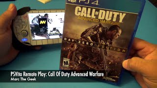PSVita Remote Play: Call Of Duty Advanced Warfare Hands On