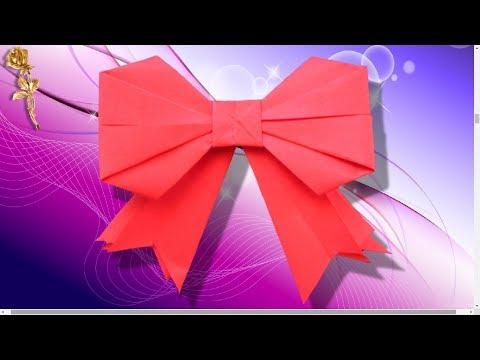 Origami : 🎀 Noeud de ruban