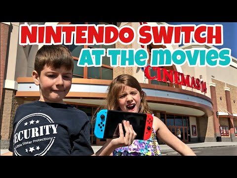 Kids Sneak Nintendo Switch Into Movie Theater While Seeing Ready Player One