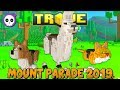 NEW FREE MOUNT! HOW TO COMPLETE MOUNT PARADE 2019 EVENT! ✪ Trove Event Guide & Tutorial
