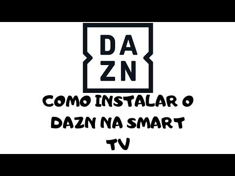 Como Instalar o DAZN na Smart TV