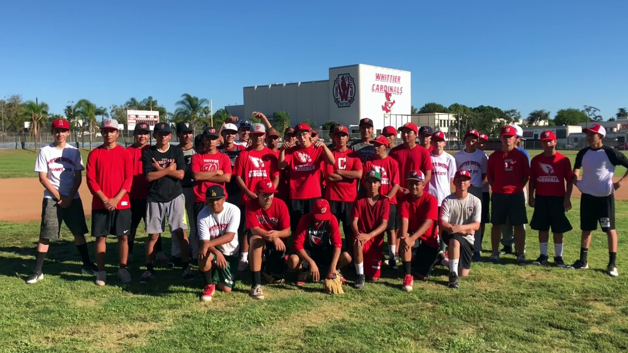 Whittier Hs Baseball 2018 19