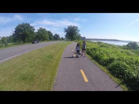 Bicycling around Old Town Alexandria, VA