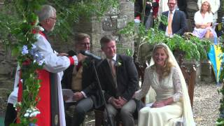 The Wedding Ceremony of Flora Montgomery and Soren Jessen