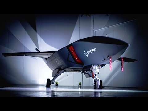 First prototype of Boeing's Loyal Wingman drone
