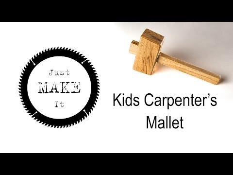 Making a Kids Carpenter's Mallet