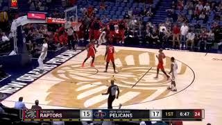 Play Of The Game Raptors Vs Pelicans Preseason 2018