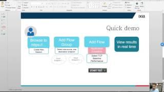 ixChariot Test Drive Quick Start Video Guide