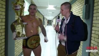 MMANovosti: Intervju sa Vaso Bakocevic nakon borbe sa Stefan Zvijer!