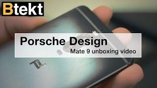 Huawei Mate 9 Porsche Design unboxing video