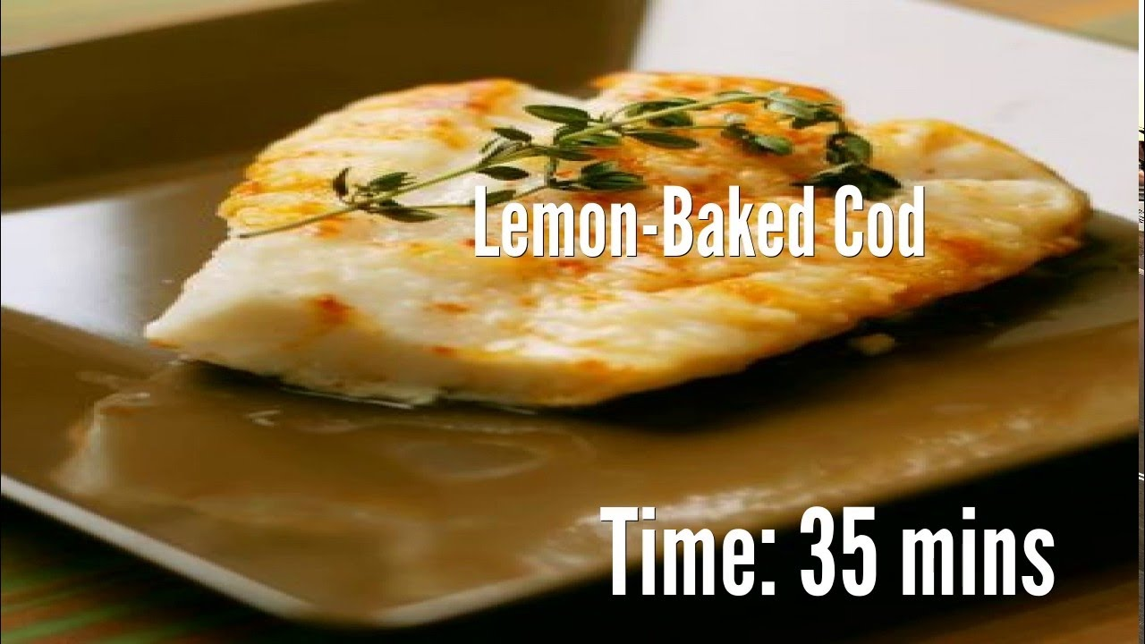 how to make baked cod