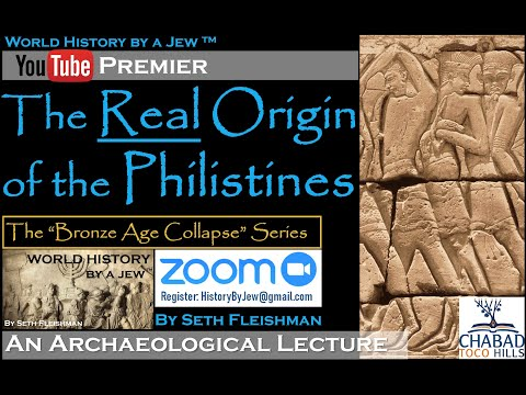 World History By A Jew ™ - The REAL Origin Of The Philistines - Z11 By Seth Fleishman