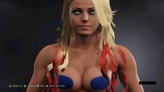 NAKED DIVAS | Every WWE 2K17 Diva naked | WWE 2K17 PC Modding