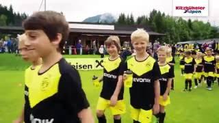EVONIK Fußballschule des BVB in den Kitzbüheler Alpen 2016