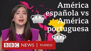 Por qué la América española se dividió en muchos países y Brasil quedó en uno solo | BBC Mundo