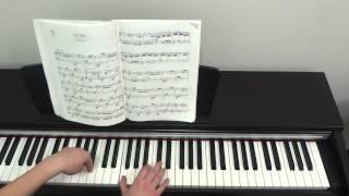 Л. Бетховен ''К Элизе''. Урок для фортепиано Часть 1.