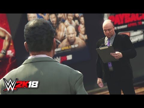 WWE 2K18 GM Mode Career - Paul Heyman Becomes General Manager! - PS4/XB1 Gameplay Concept