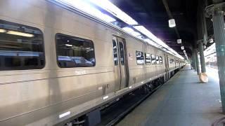 metro north f40ph 2cat 4193 leaving hoboken   hd