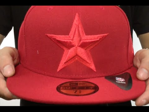 7d0b37db7 Cowboys  LEAGUE BASIC TONAL  Red Fitted Hat by New Era - YouTube