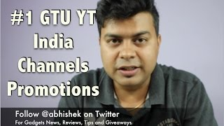 #1 GTU India YT Channels Promotion, TechDimension, Tech2Learn, Gizmo Tech