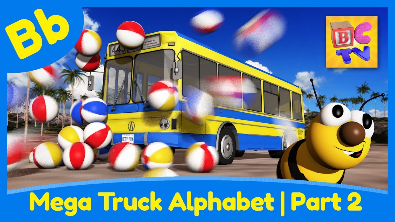 Mega Truck Alphabet Part 2 | Letter B preview
