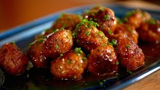 How to Make Sweet and Sour Meatballs with Byron Talbott (THE DISH)