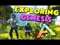 Exploring ALL of GENESIS - ARK Duo Survival Series - Genesis #3