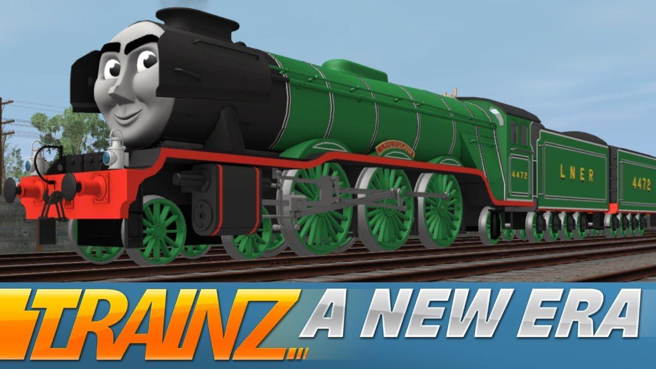 Trainz: A New Era - Flying Scotsman (Thomas & Friends CGI)