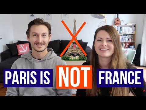 PARIS VS THE REST OF FRANCE | Major differences between the Parisians and the French