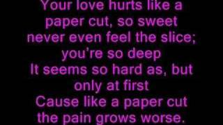 Vanessa Hudgens - Paper Cut (with lyrics)