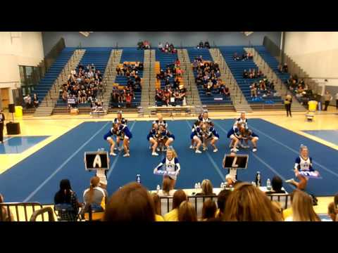 Atlee High School Round 2 at 5A North Regional Cheer 2015