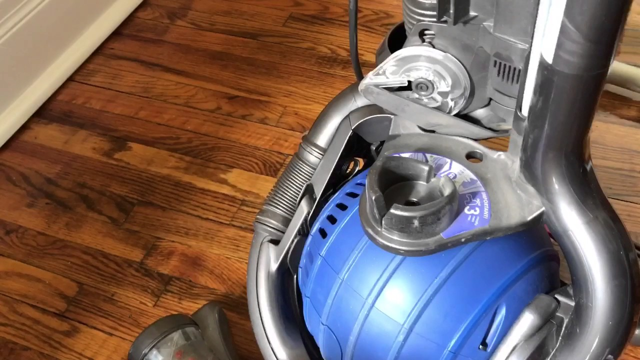 Dyson Dc25 Hose Removal And Reinstallation In 90 Seconds Youtube