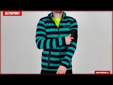 pánský svetr alpine pro eneas 2 mplj024 světle modrá - YouTube c32ce70ace