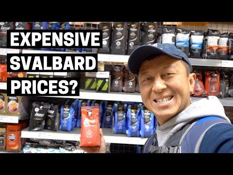 HOW EXPENSIVE IS SVALBARD? | Cost of groceries and food in L