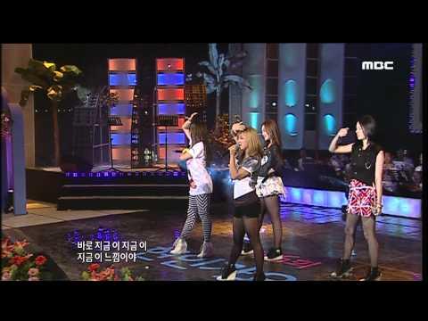 fx  NU ABO + MrBoogie + La Cha Ta @ Busan MBC Sea Festival 20100815