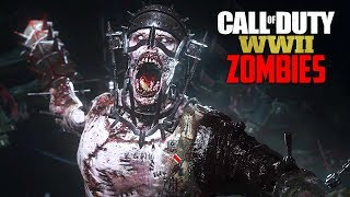 Call of Duty WW2 Zombies - NEW WW2 ZOMBIES WALKTHROUGH + BOSS FIGHT!! (COD WW2 Zombies PS4 Gameplay)