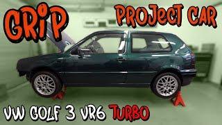 Das GRIP Project Car | VW Golf 3 VR6 Turbo - Was bisher geschah! | Philipp Kaess |